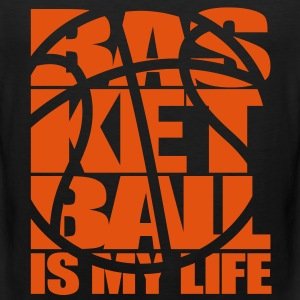 Basketball is my Life. Basket T-shirts - Premiumtanktopp herr