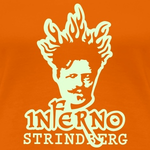 Inferno Strindberg Black 2c T-Shirts - Women's Premium T-Shirt