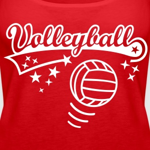 Volleyball Ball * Sports spil spiller Athlete Toppe - Dame Premium tanktop