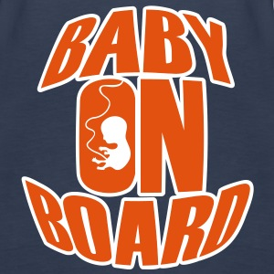 Baby On Board Tops - Women's Premium Tank Top