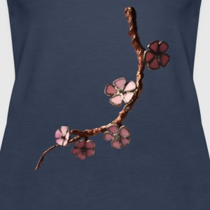 cherry blossom Tops - Women's Premium Tank Top