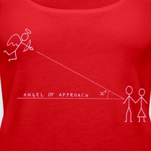 Angle of Approach (Pink) Tops - Women's Premium Tank Top
