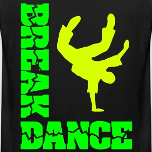 Breakdance moves freeze street dance  T-Shirts - Männer Premium Tank Top