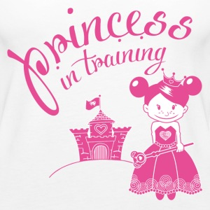 princess in training Tops - Frauen Premium Tank Top