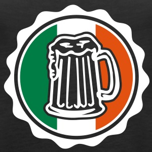 Irish Beer Crest Topy - Tank top damski Premium
