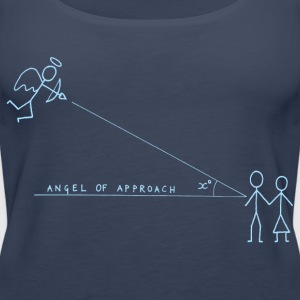 Angle of Approach (Blue) Tops - Women's Premium Tank Top