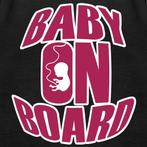 Baby On Board Tops - Frauen Premium Tank Top