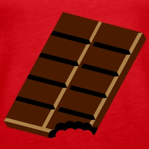 A bar of chocolate Tops - Women's Premium Tank Top