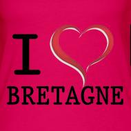 Motif ~ Débardeur i love bretagne dos nageur Femme