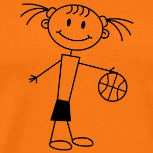 basketball_girl T-shirts - Premium-T-shirt herr