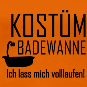 Faschings Kostüm T-Shirts - Frauen Premium T-Shirt