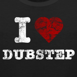I Love DUBSTEP vintage light Koszulki - Tank top męski Premium