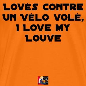 Lové contre un Vélo Volé I Love my Louve
