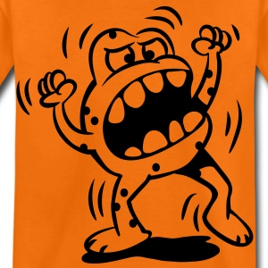 The little monster is very angry Shirts - Kids' Premium T-Shirt