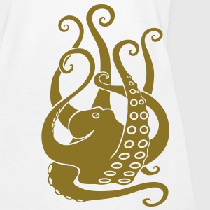 octopus squid cuttlefish  scuba diving diver Tops - Women's Premium Tank Top
