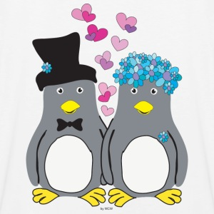Pinguin Lovebirds T-Shirts - Männer Premium Tank Top