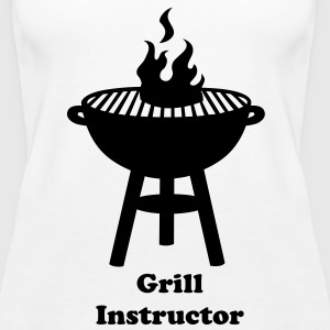grill with fire Tops - Women's Premium Tank Top