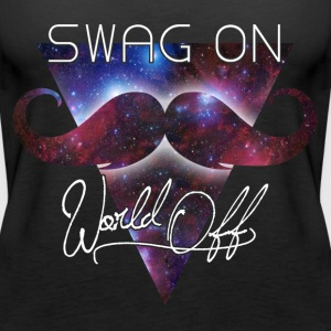 world off swag on Topper - Premium singlet for kvinner