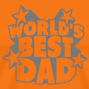 World's best Dad Camisetas - Camiseta premium hombre