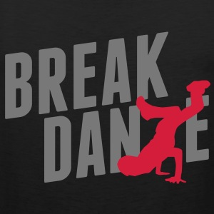 breakdance Camisetas - Tank top premium hombre