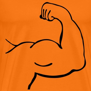 muscles_2_m1 T-Shirts - Men's Premium T-Shirt