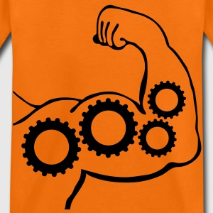 muscles engrenages_m1 Tee shirts - T-shirt Premium Enfant