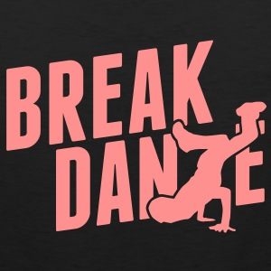breakdance T-shirts - Mannen Premium tank top