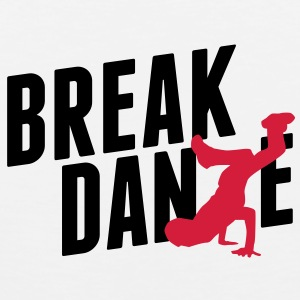 breakdance T-Shirts - Männer Premium Tank Top
