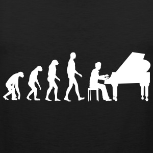 piano evolution T-Shirts - Men's Premium Tank Top