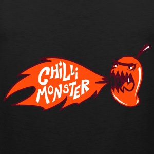 Chilli Monster T-Shirts - Men's Premium Tank Top