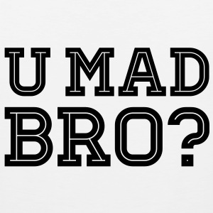 Like a cool you mad geek story bro typography T-skjorter - Premium singlet for menn