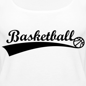 Basket Ball *** Fan Team Logo Basket icon Toppar - Premiumtanktopp dam