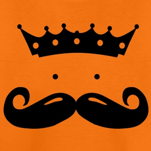 moustache king T-shirts - Premium-T-shirt barn