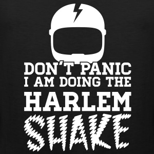 Don't panic do the Harlem shake meme dance t-shirt Magliette - Canotta premium da uomo