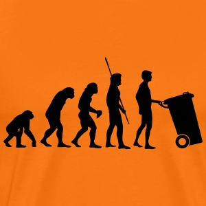 Evolution garbage  T-Shirts - Men's Premium T-Shirt