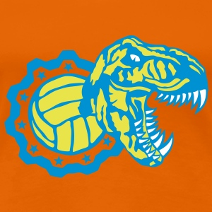 volley waterpolo tyrannosaure logo dinos Tee shirts - T-shirt Premium Femme
