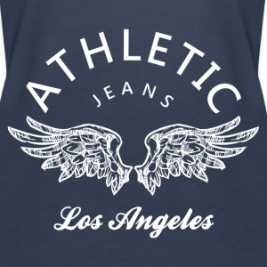 Athletic jeans los angeles Tops - Vrouwen Premium tank top