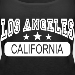 los angeles california Tops - Women's Premium Tank Top