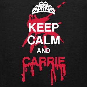 Keep calm and Carrie Tee shirts - Débardeur Premium Homme