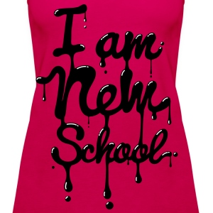 I am new school (Swag,Dope,Hipster) Tops - Frauen Premium Tank Top
