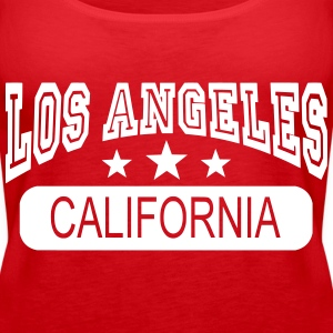 los angeles california Tops - Vrouwen Premium tank top
