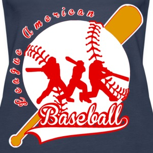 baseball league american Topper - Premium singlet for kvinner