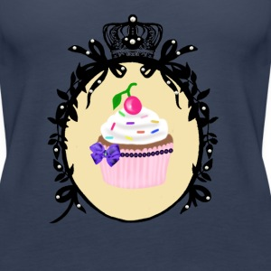 Sweet Cupcake Tops - Women's Premium Tank Top