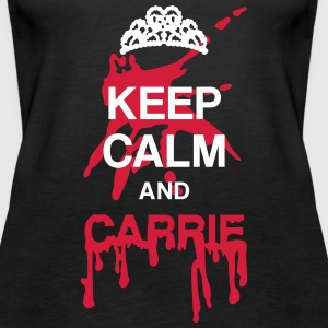 Keep calm and Carrie Tops - Women's Premium Tank Top
