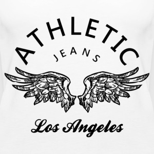 Athletic jeans los angeles Tops - Women's Premium Tank Top