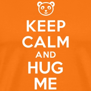 Keep calm and hug me Tee shirts - T-shirt Premium Homme