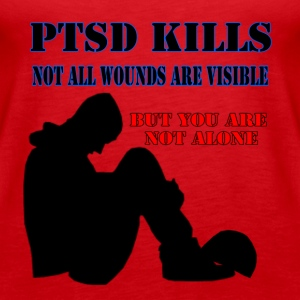ptsd_kills Tops - Frauen Premium Tank Top