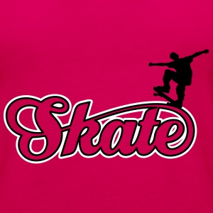 skate Tops - Frauen Premium Tank Top
