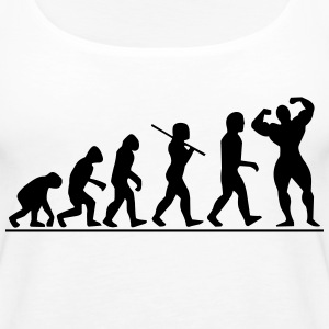 Evolution | Womens Tank Top - Women's Premium Tank Top