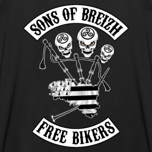 sons of breizh bikers 3 Tee shirts - Débardeur Premium Homme